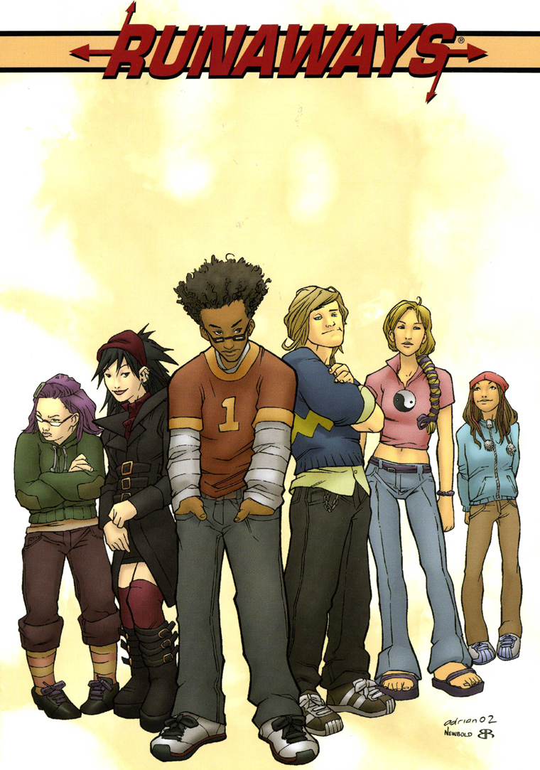 Cover for Runaways