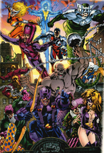 Thunderbolts (Earth-22000) from Marvel Universe Millennial Visions Vol 1 1 001