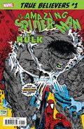 True Believers Spider-Man vs. Hulk Vol 1 1