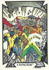 X-Factor (Earth-616) from Todd Macfarlane (Trading Cards) 0001