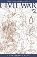 Civil War Vol 1 2 Sketch Variant