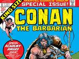 Conan the Barbarian Annual Vol 1