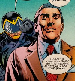 Curtiss Jackson (Earth-616) and John Walker (Earth-616) from USAgent Vol 1 2 001