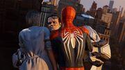 Joseph Martello (Earth-1048) vs. Peter Parker (Earth-1048) and Silver Sablinova (Earth-1048) from Marvel's Spider-Man (video game) 001
