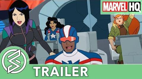 MARVEL RISING SECRET WARRIORS Teaser Trailer The Next Generation of Marvel Heroes (EXCLUSIVE)