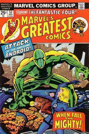Marvel's Greatest Comics Vol 1 53
