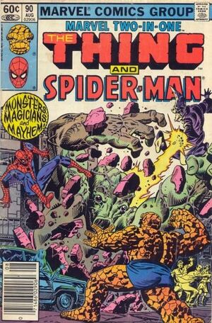 Marvel Two-In-One Vol 1 90
