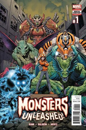 Monsters Unleashed Vol 3 1