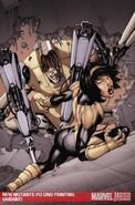 New Mutants Vol 3 12 Second Printing Variant Textless