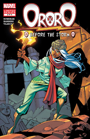 Ororo Before the Storm Vol 1 2