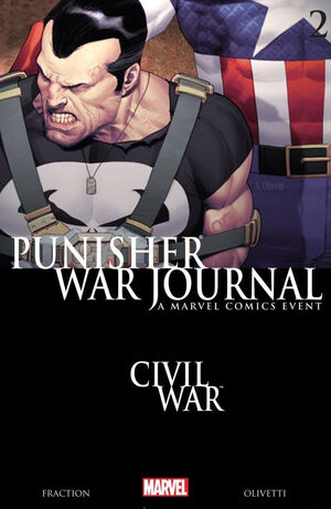 Punisher War Journal Vol 2 2