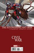 Astonishing Ant-Man Vol 1 7 Civil War Variant