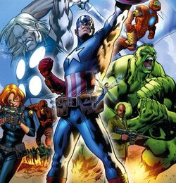 Avengers (Earth-3488) from Ultimate Avengers The Movie 0001