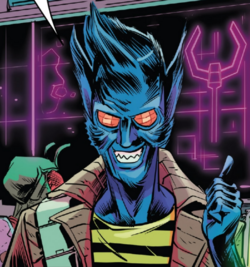 Kraglin (Earth-616) from All-New Guardians of the Galaxy Annual Vol 1 1 001