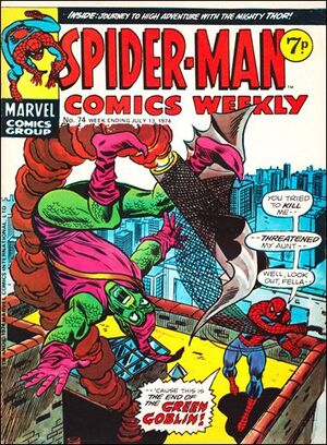 Spider-Man Comics Weekly Vol 1 74