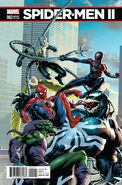 Spider-Men II Vol 1 2 Saiz Connecting Variant