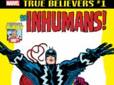 True Believers: Kirby 100th - Inhumans Vol 1 1