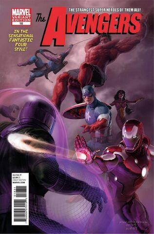 File:Avengers Vol 4 18 Marvel Comics 50th Anniversary Variant.jpg