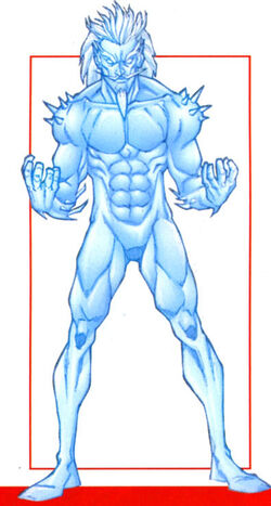 Bradley Kroon (Earth-616) from Official Handbook of the Marvel Universe A-Z Update Vol 1 5 0001