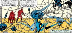 Cerebro (Mutant Detector) from X-Men Vol 1 7 0001