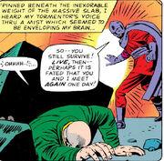 Charles Xavier (Earth-616) crippled by Lucifer in X-Men Vol 1 20