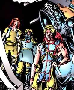 Clan Rebelllion (Earth-4935) from Adventures of Cyclops and Phoenix Vol 1 3 001