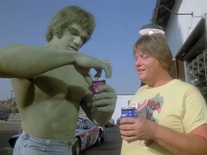 David Banner (Earth-400005) and Ricky Detter (Earth-400005) from The Incredible Hulk (TV series) Season 2 3 001