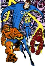 Fantastic Four (Earth-8466) from Fantastic Four the Lost Adventure Vol 1 1