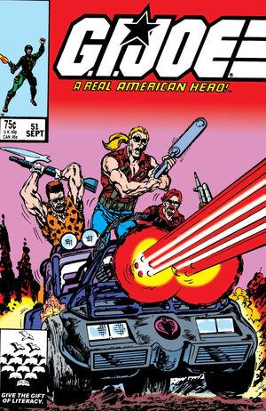 G.I. Joe A Real American Hero Vol 1 51