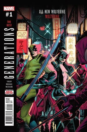 Generations Wolverine & All-New Wolverine Vol 1 1