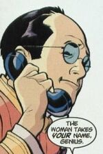 Harold (Receptionist) (Earth-616) from Spider-Man Black Cat The Evil That Men Do Vol 1 1 001