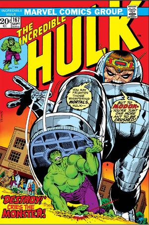 Incredible Hulk Vol 1 167