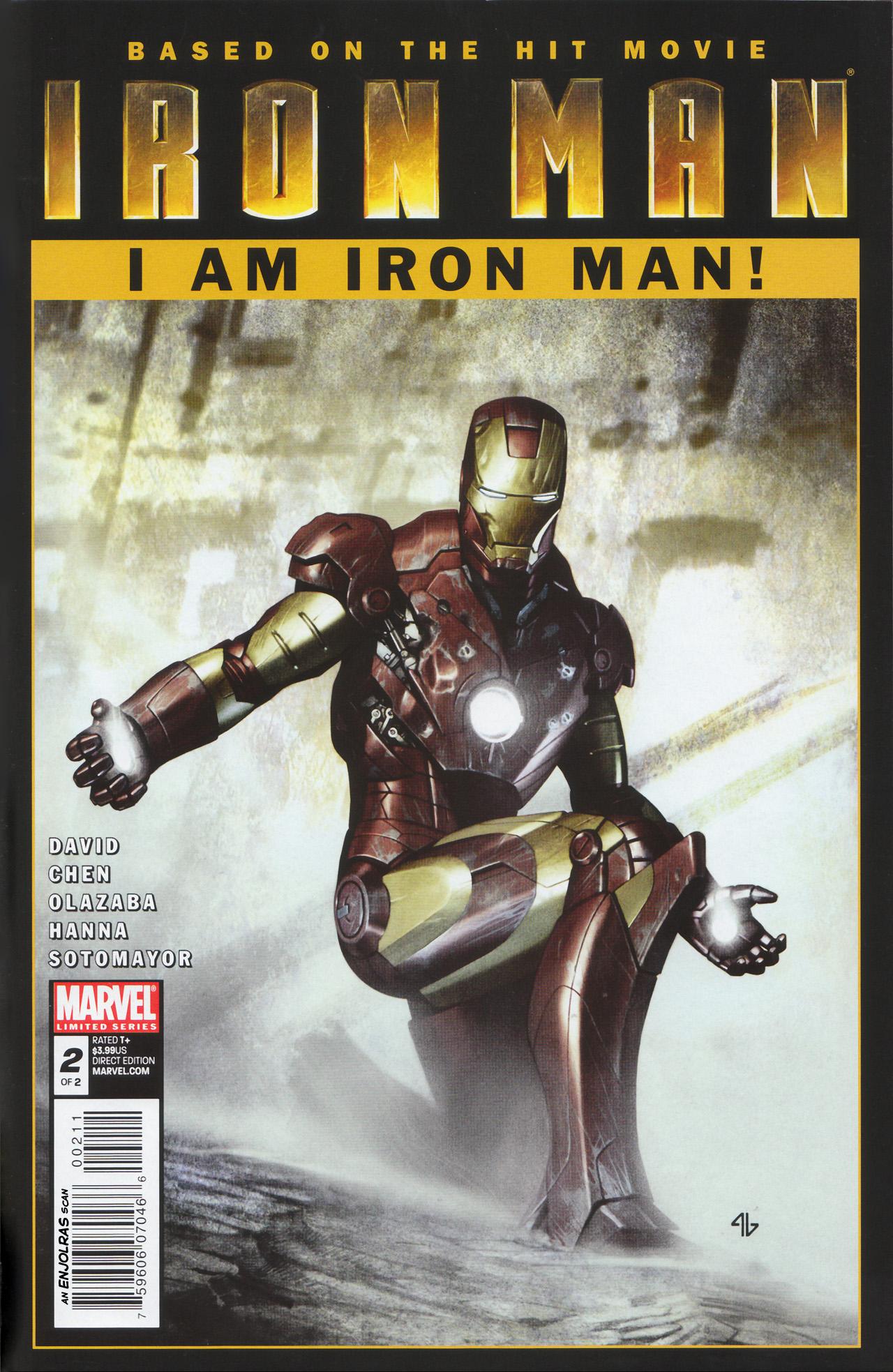 Invincible Iron Man 1 2 Wizard Magazine