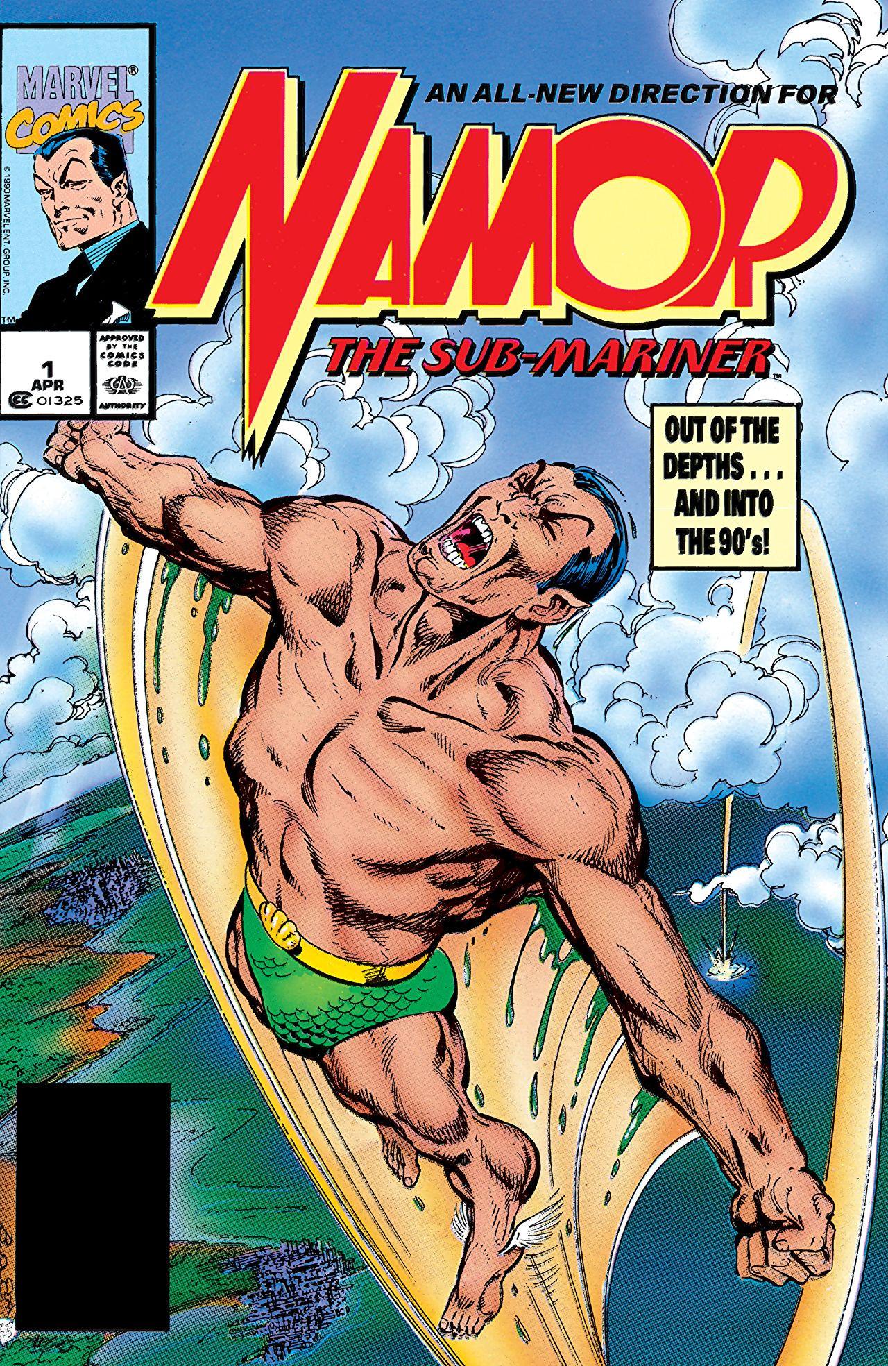 NAMOR THE SUB-MARINER #1 MARVEL COMICS FANTASTIC 1ST ISSUE 1990 JOHN BYRNE!