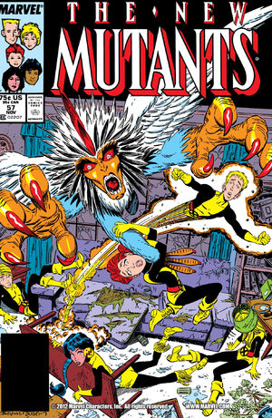 New Mutants Vol 1 57