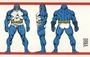 Orka (Earth-616) from Official Handbook of the Marvel Universe Master Edition Vol 1 2 001