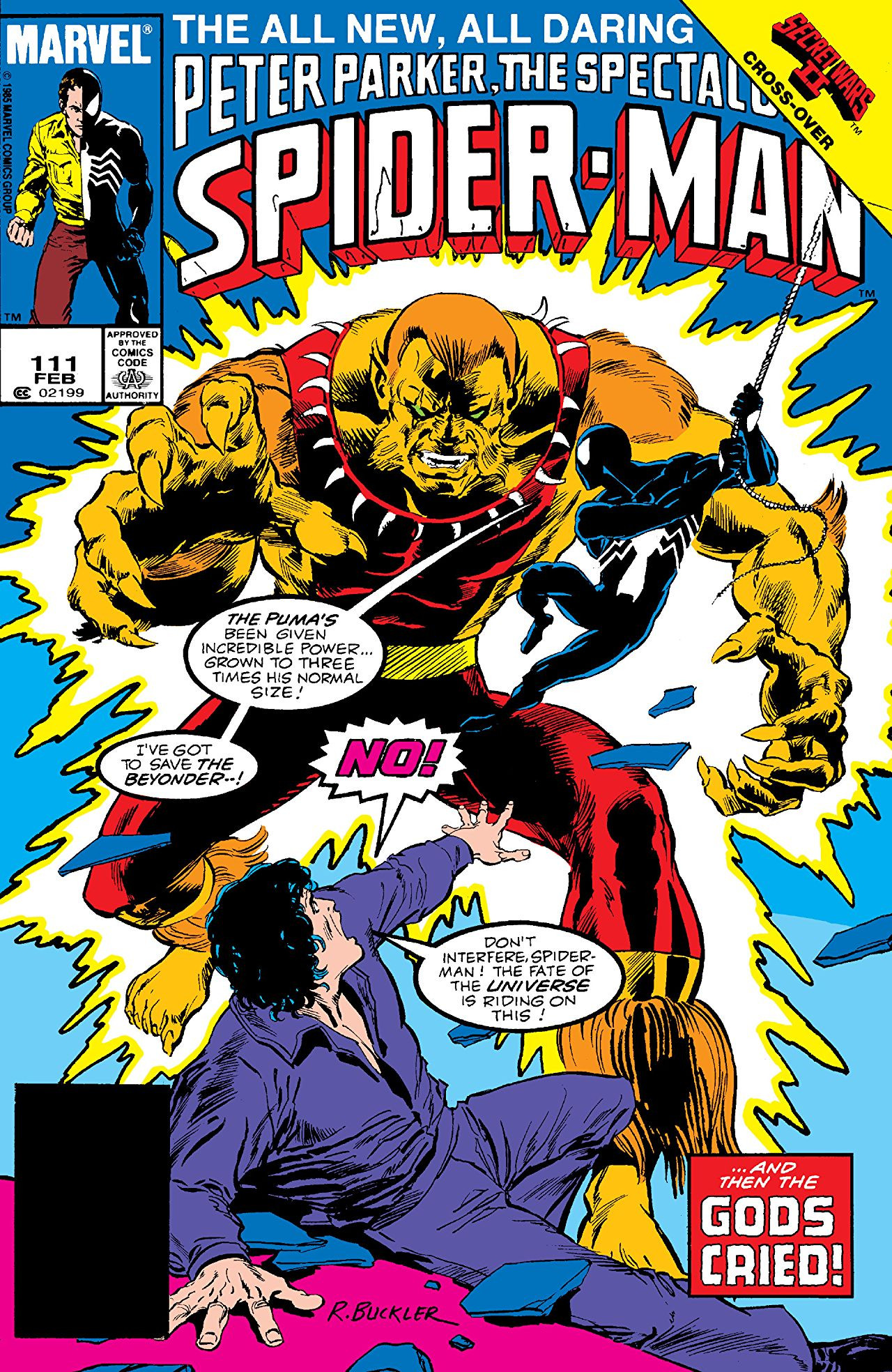 Peter Parker, The Spectacular Spider-Man Vol 1 111