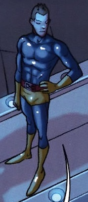 Robert Drake (Earth-616) second graduation costume from X-Men First Class Finals Vol 1 2