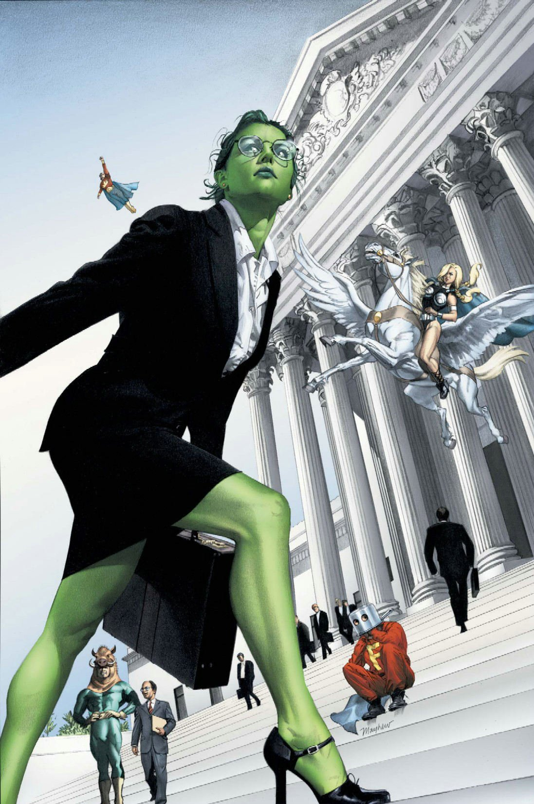 Goodman Lieber Kurtzberg u0026 Holliway. She-Hulk ... & Jennifer Walters (Earth-616) | Marvel Database | FANDOM powered by Wikia