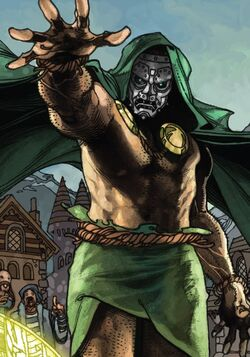 Victor von Doom (Earth-616) from Fantastic Four Vol 6 1 001