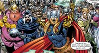 Warriors Three (Earth-982) Last Planet Standing Vol 1 2 001