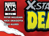 X-Statix Presents: Dead Girl Vol 1 5