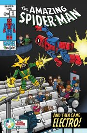 Amazing Spider-Man Vol 3 1 Diamond Retailer Summit Exclusive Variant