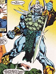 Attuma (Earth-616) sixth armor from Namor the Sub-Mariner Vol 1 45
