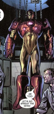 Bruce Banner (Earth 616), Iron Man Armor Model 26 MK I from Incredible Hulk Vol 2 73 002