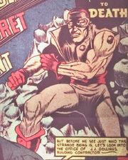 Daniel Rose (Earth-616) in his original costume from U.S.A. Comics Vol 1 1 0001