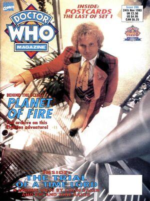 Doctor Who Magazine Vol 1 206