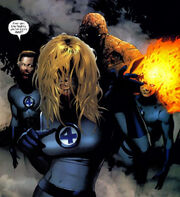 Fantastic Four (Earth-2149) from Ultimate Fantastic Four Vol 1 21 001