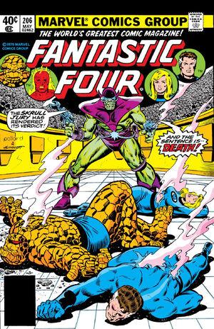 Fantastic Four Vol 1 206