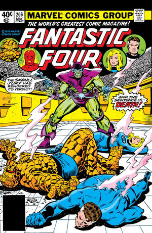 Fantastic Four Vol 1 206
